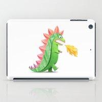 godzilla iPad Cases featuring Godzilla by Keyspice