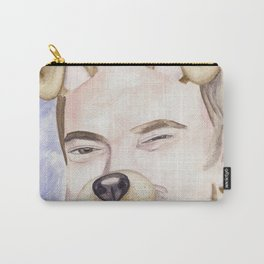 Mark Sheppard, watercolor painting Carry-All Pouch