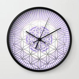 NAKED GEOMETRY no 1 Wall Clock
