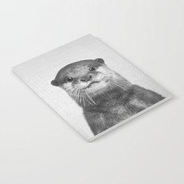 Otter - Black & White Notebook