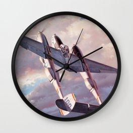 Lockheed P-38 Lightning Wall Clock
