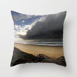 Storm Coming Throw Pillow