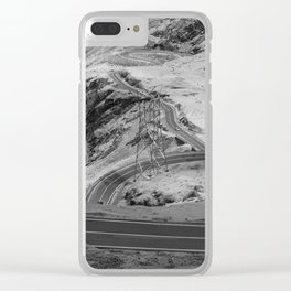Transfagarasan #3 Clear iPhone Case