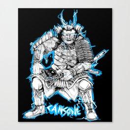 Samurai - I love Bushido Canvas Print