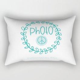 Peace Photo Rectangular Pillow