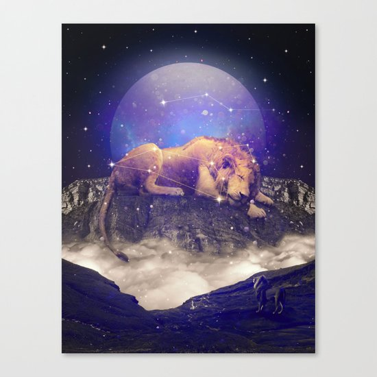 Under the Stars III (Leo) Canvas Print