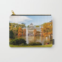 Glass Palace in Retiro Park Carry-All Pouch