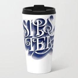 Sips Tea Metal Travel Mug