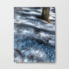 'Frozen Trail' Metal Print
