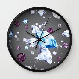 The Diamond Galaxy III Wall Clock
