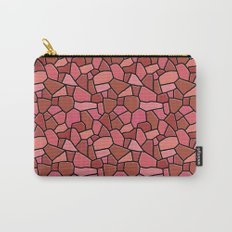 Stained Glass Red Carry-All Pouch