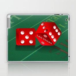 Craps Table & Red Las Vegas Dice Laptop & iPad Skin