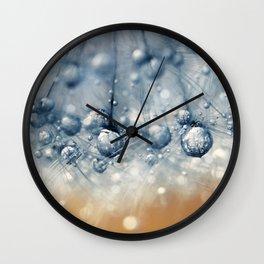 Sea Blue Dandy Wall Clock