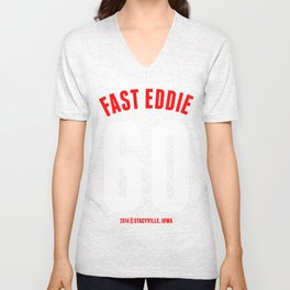 FAST EDDIE Unisex V-Neck