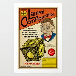Lament Configuration Art Print