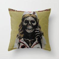 Killer Nurse Throw Pillow