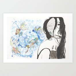 Dreaming in Color I Art Print