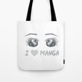 I Love Manga 1 Tote Bag