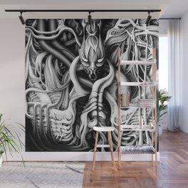 Alien flesh #1 Wall Mural