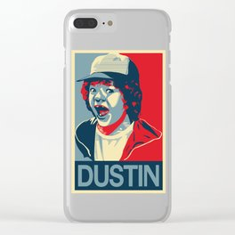 Dustin Clear iPhone Case