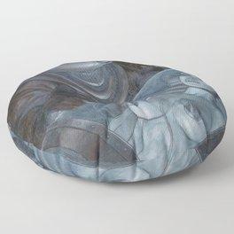 Space Kiss Floor Pillow