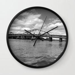 City of Bridges Wall Clock
