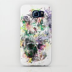 Skull - Parrots 2 Slim Case Galaxy S6