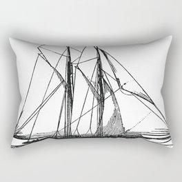 Engraved Yacht Rectangular Pillow
