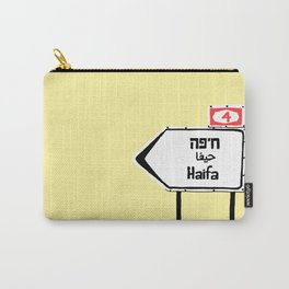 Haifa This Way Carry-All Pouch