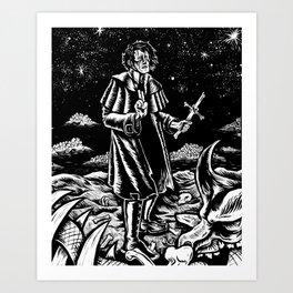 The Expriest  Art Print