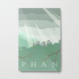 Planet Exploration: Phan Metal Print