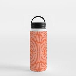 Basketweave-Persimmon Water Bottle