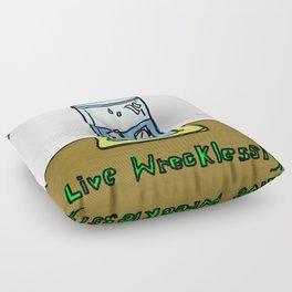 Wreckless Floor Pillow
