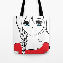 LaBelles Anime Face Tote Bag