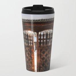 Enter the gate into the winter season! Travel Mug