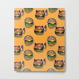 Burgie Pattern Metal Print