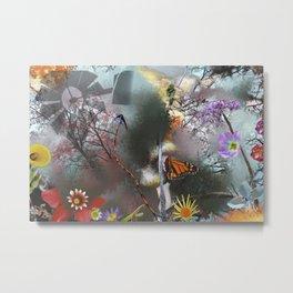 Floral Composition Metal Print