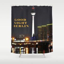 Summernight Berlin Shower Curtain