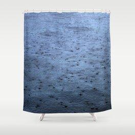 Estuary Rain Shower Curtain