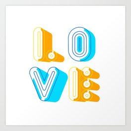 Love [illustration] Art Print