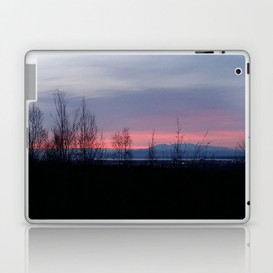 Glowing Sleeping Lady Laptop & iPad Skin