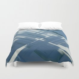 Abstract Composition 634 Duvet Cover