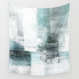 Atmospheric Contemporary Abstract Landscape Painting Wall Tapestry