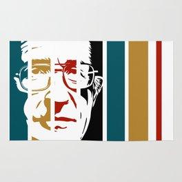Noam Chomsky Retro Homage Rug