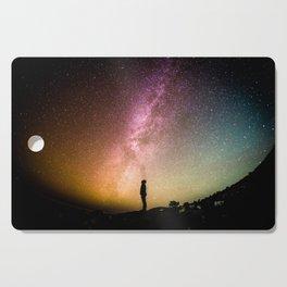 Galaxy Explorer Cutting Board