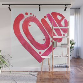 Love is the best medicine Wall Mural