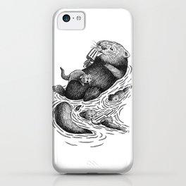 Ice Cream Otter iPhone Case