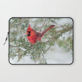 Cocky Cardinal Laptop Sleeve