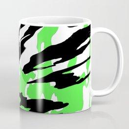 Green and Black Coffee Mug