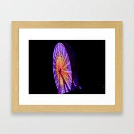 The Wheel. Framed Art Print